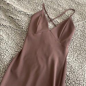 Lilac Body-con Dress